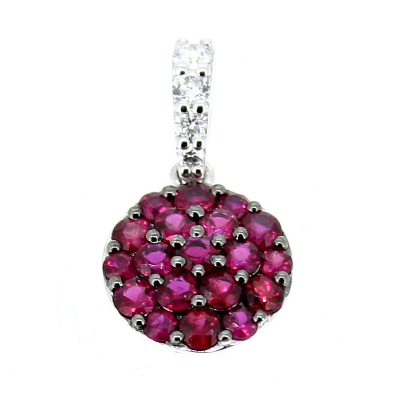 Decor Ruby & Diamond Pendant