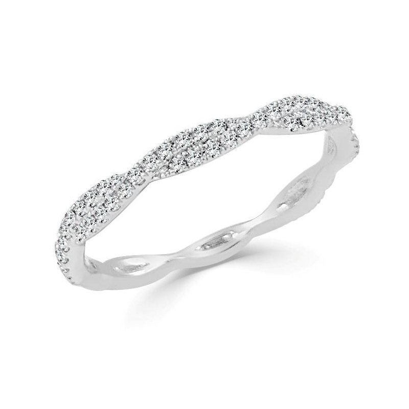 Sabrina Infinity Diamond Crossover Band