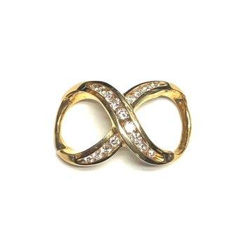 Infinity Diamond Slide Pendant