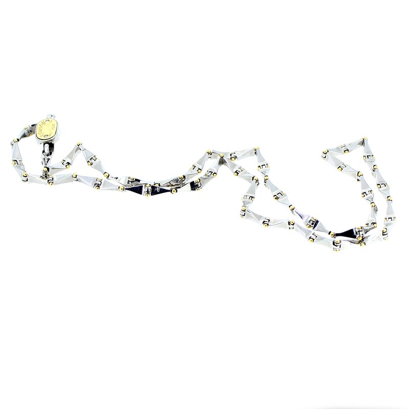 Decor Stainless Steel & Gold Chain