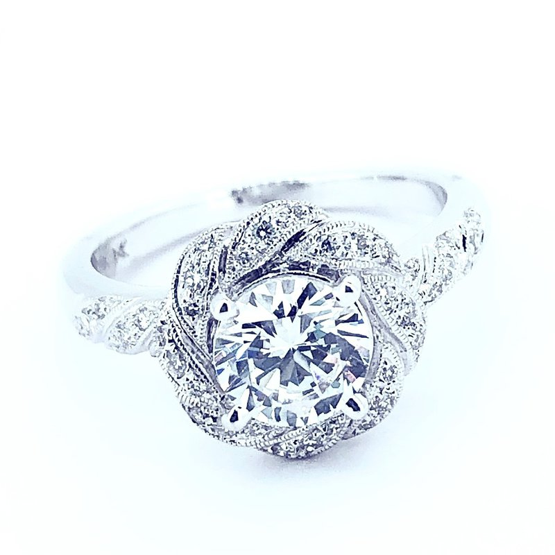 Decor Vintage Inspired Diamond Ring Mounting