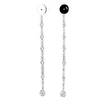 Diamond Drop Earring Backs
