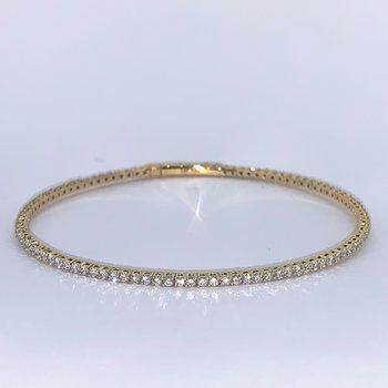 1.70ctw Flexible Diamond Bracelet