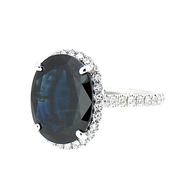 Decor Sapphire & Diamond Ring