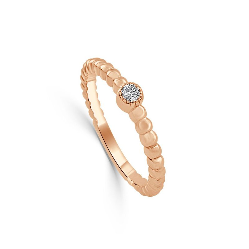 Sabrina Beaded Diamond Band