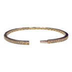 Decor Diamond Bangle Bracelet