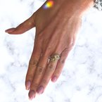 Decor Fancy Yellow Diamond Bypass Ring