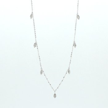 Diamond Drops Necklace