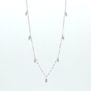 Diamond Drops Necklace