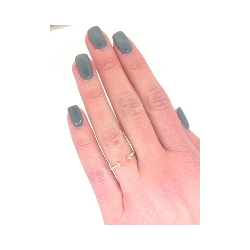 Decor Dainty Diamond Arrows Ring