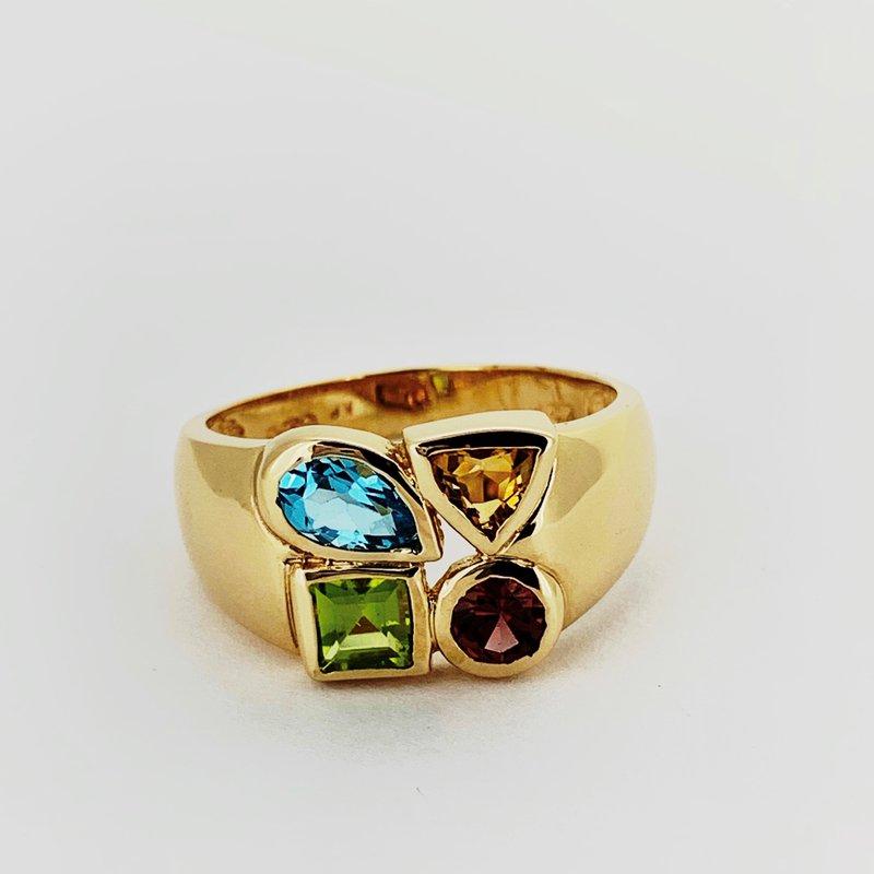 Decor Multi Gemstone Ring
