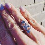 Decor Floral Diamond Ring