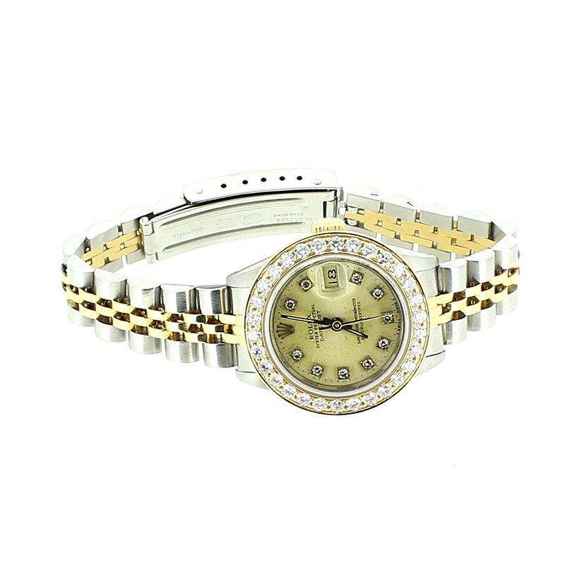 Pre-owned Rolex Ladies Diamond Watch