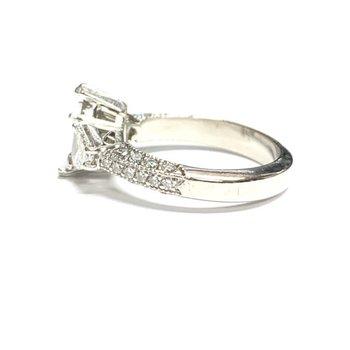 Michael Beaudry Trillion Diamond Ring Mounting
