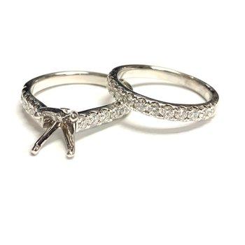 1.00ct Diamond Ring Mounting Set