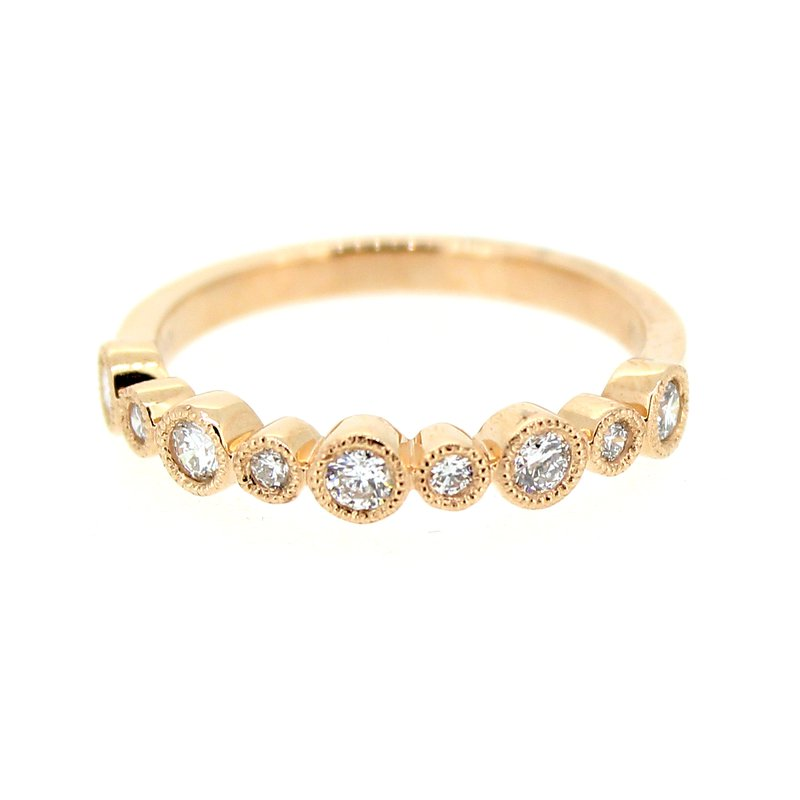 Decor Rose Gold Diamond Band