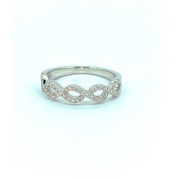 Diamond Weave Ring