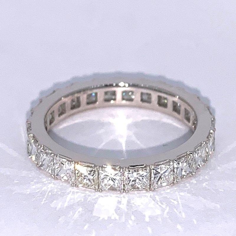 2.40ctw Princess Cut Diamond Eternity Band