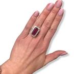 Decor Ruby & Diamond Ring