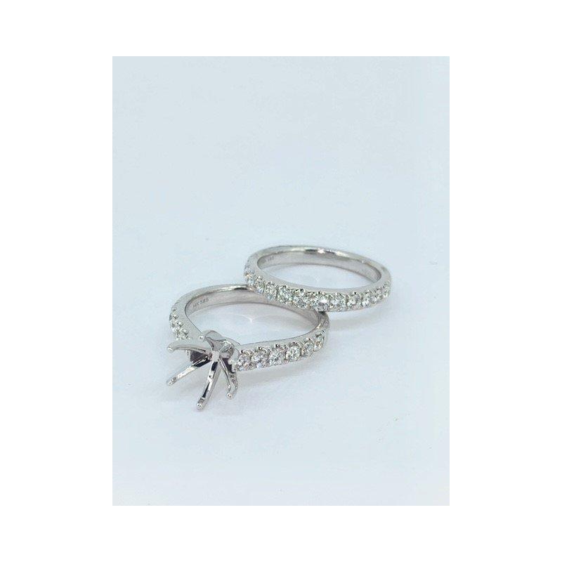 Decor Six Prong Diamond Ring Mounting