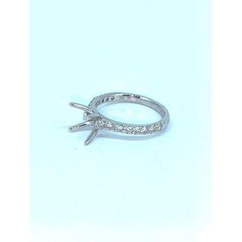 Four Prong Diamond Ring Mounting