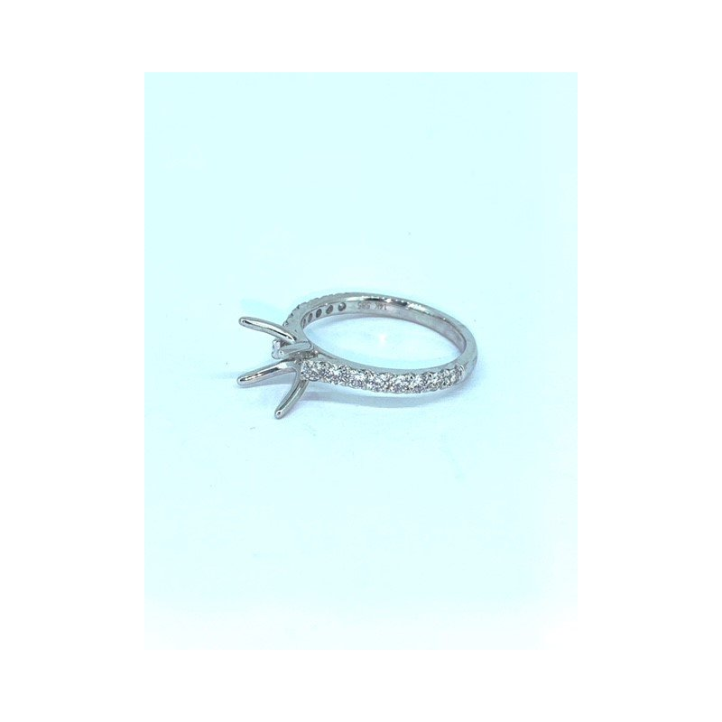 Decor Four Prong Diamond Ring Mounting