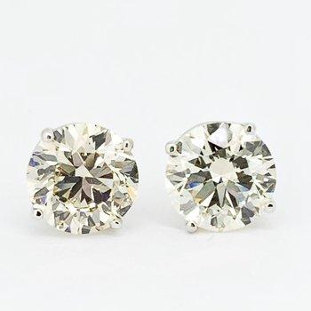 5.17ctw Diamond Stud Earrings