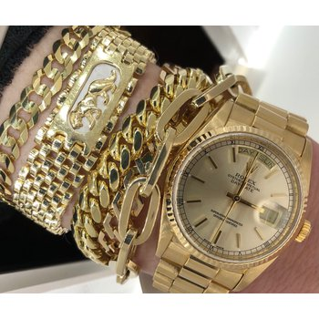Panther Gold Bracelet