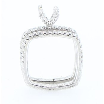 Square Diamond Mounting & Band