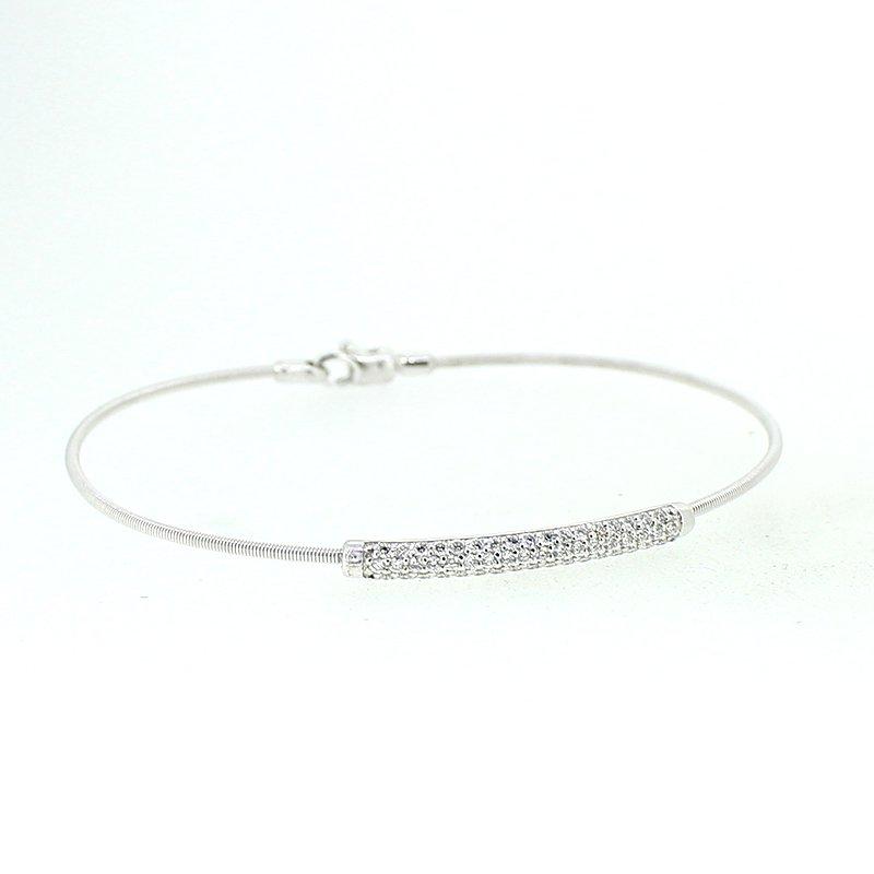 Decor Diamond Bar Bracelet