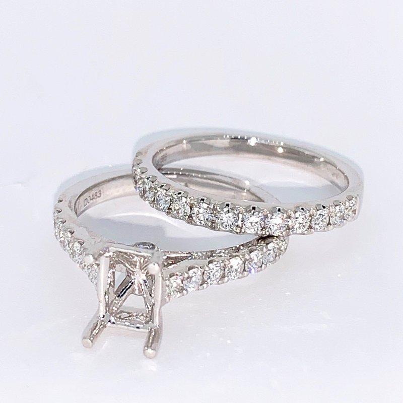 Decor Diamond Ring Mounting & Band