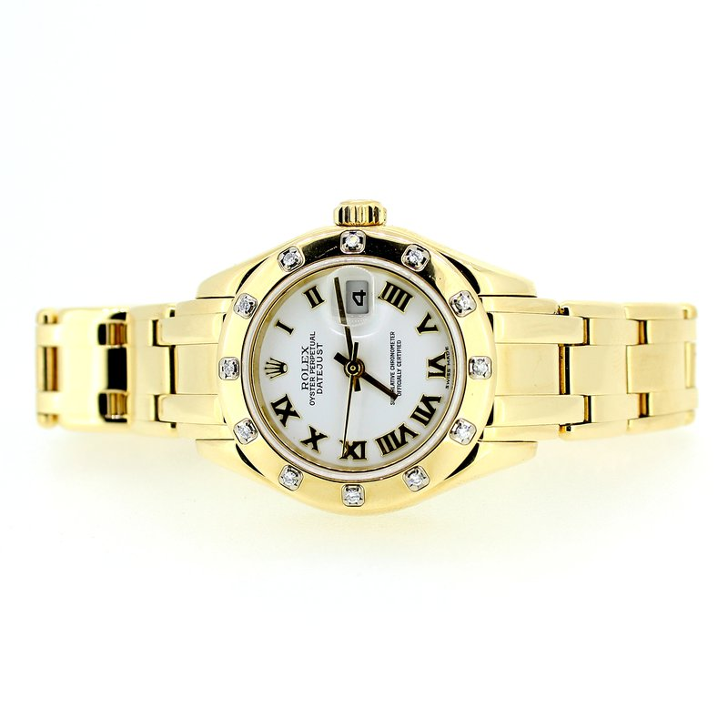 Pre-owned Rolex Ladies Masterpiece