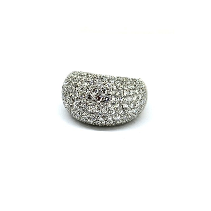 Decor Pave Dome Ring