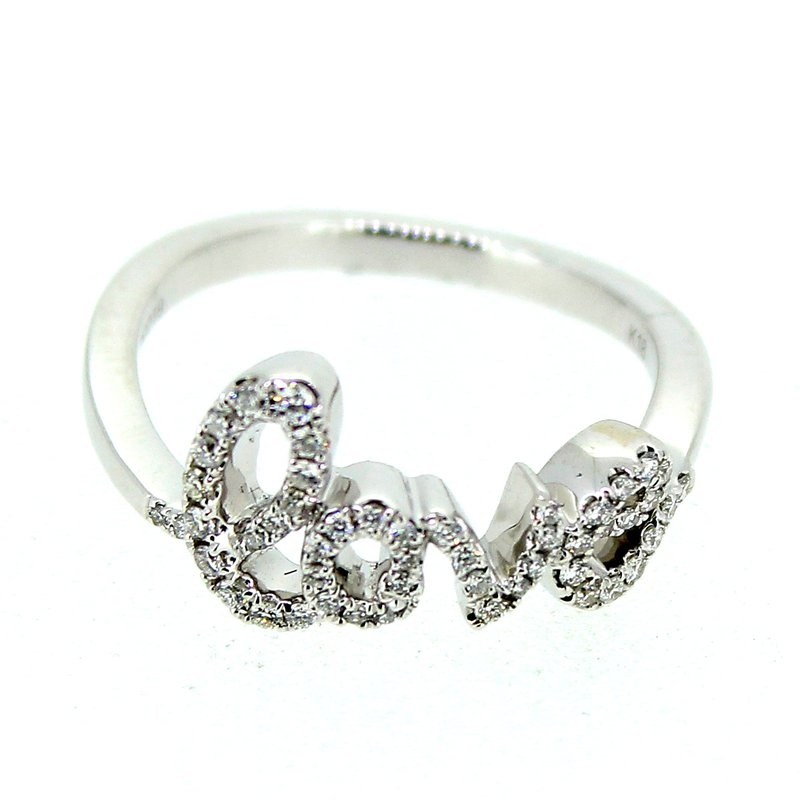 Decor Diamond Love Ring