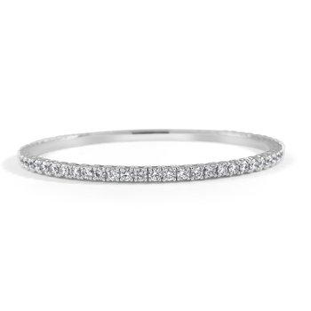 3.02ctw Flexible Diamond Bracelet