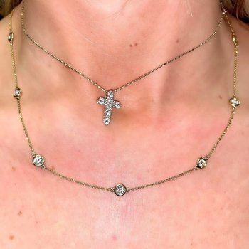 2.02ctw Diamonds by the Yard Necklace