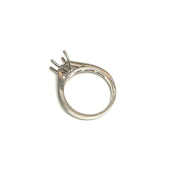 Channel Set Diamond Ring Mounting
