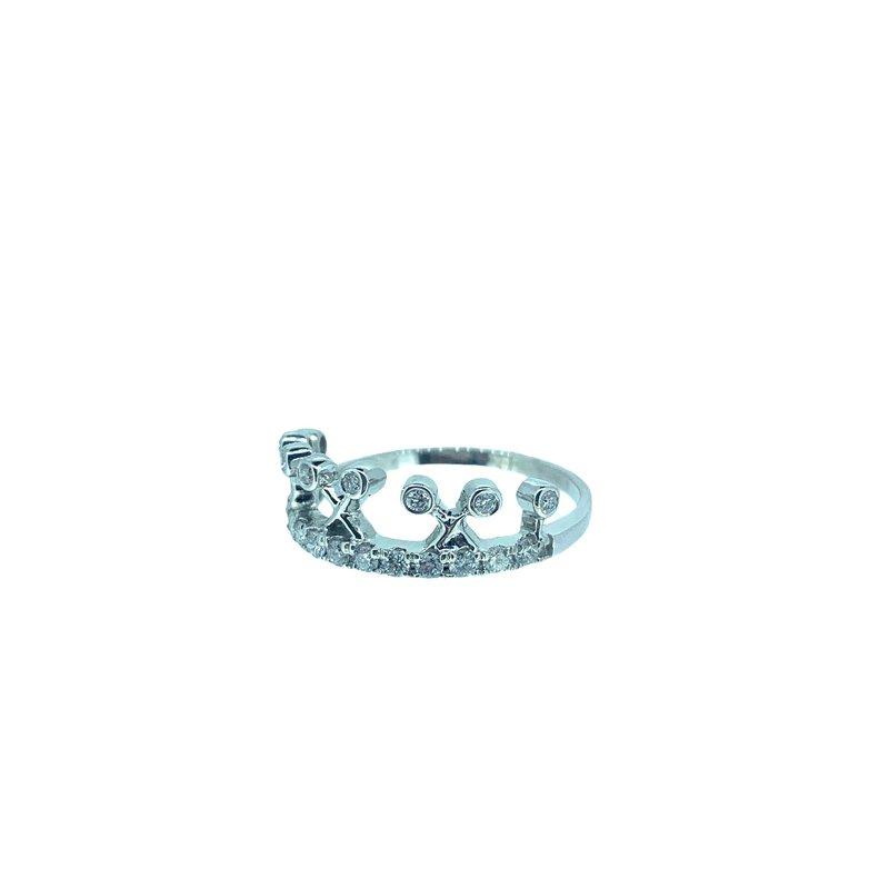 Decor Diamond Crown Ring