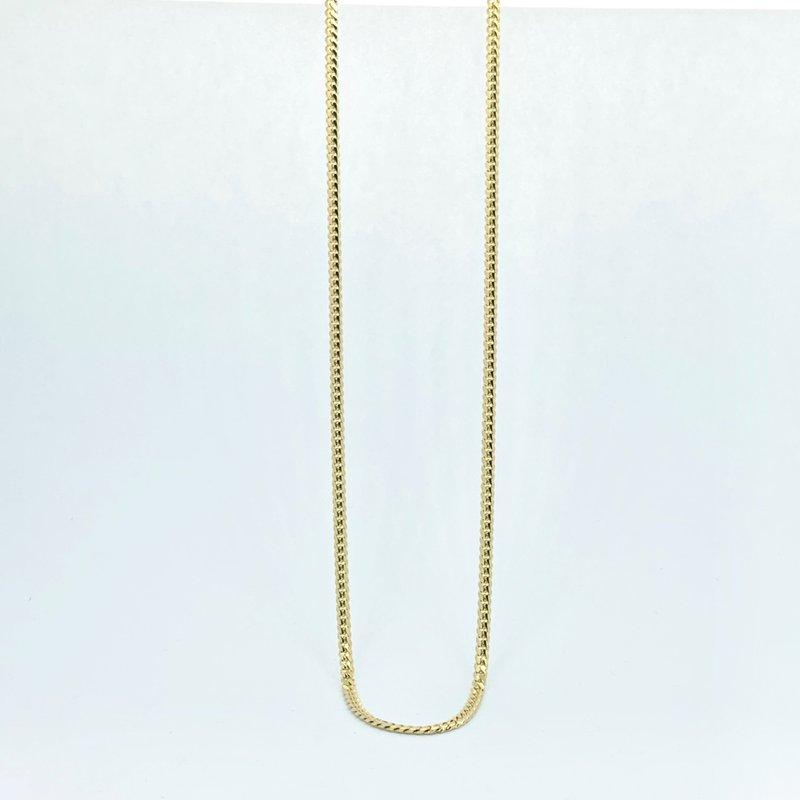 Decor Miami Cuban Link Chain Necklace