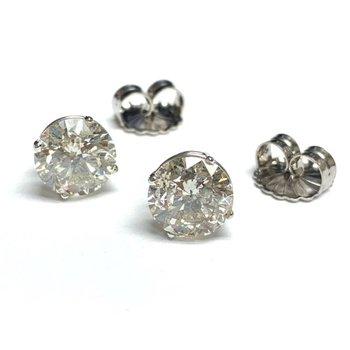 6.05ctw Diamond Studs