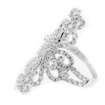 Diamond Filigree Fashion Ring