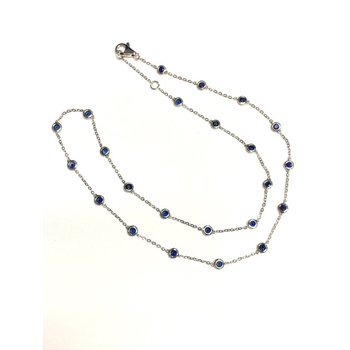 Sapphire By the Yard Necklace