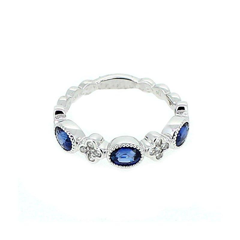 Decor Sapphire & Diamond Band