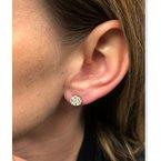 Decor Diamond Stud Earrings