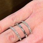 Decor Diamond Wrap Around Ring