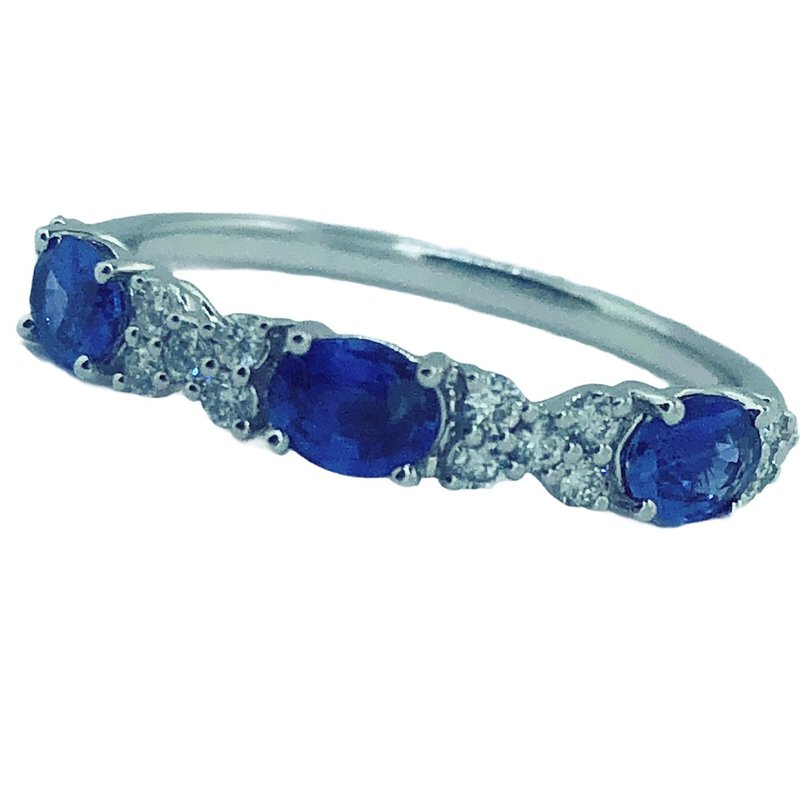 Decor Sapphire & Diamond Ring