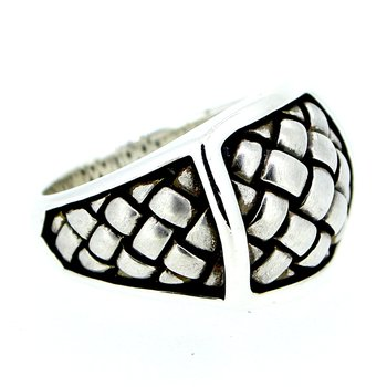 Basketweave Ring
