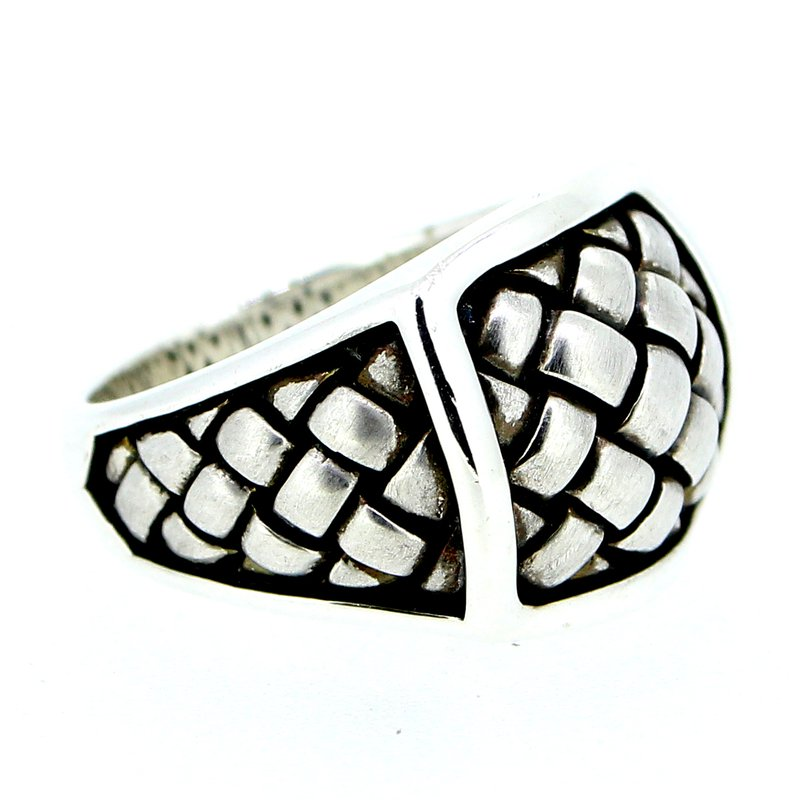 Scott Kay Basketweave Ring