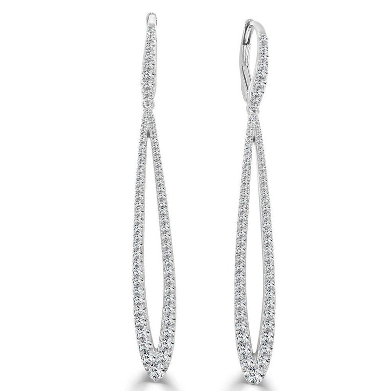 Sabrina Teardrop Diamond Earrings