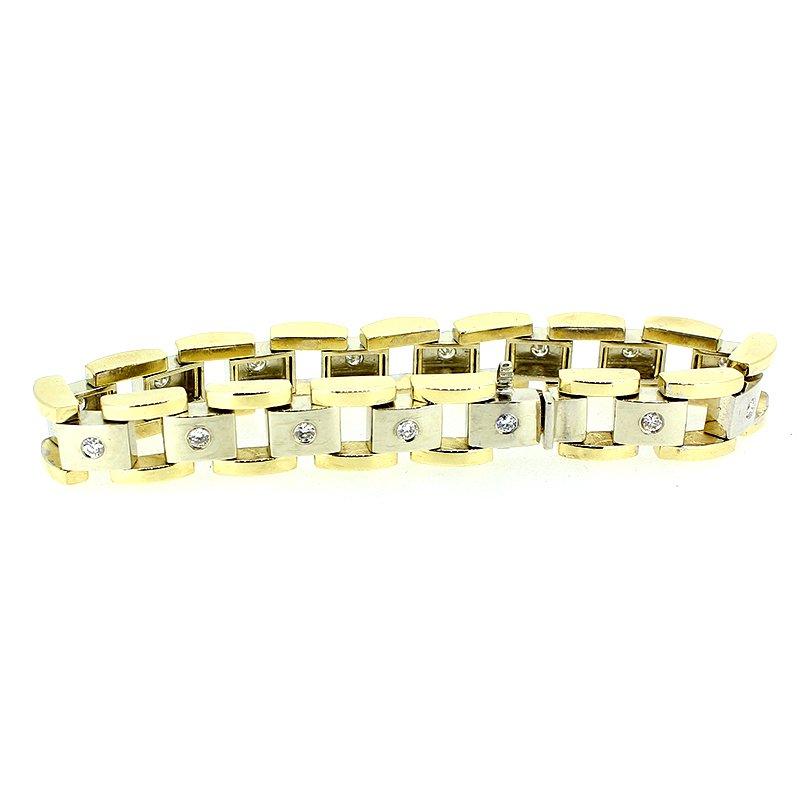 Decor Men's Diamond Bracelet